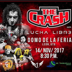THE CRASH LUCHA LIBRE