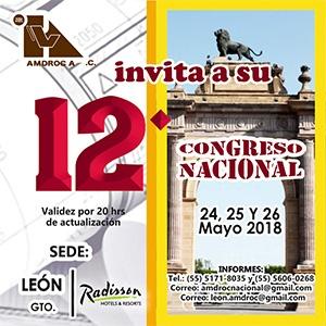 12DO CONGRESO NACIONAL DE DIRECTORES RESPONSABLES DE OBRA Y CORRESPONSABLES