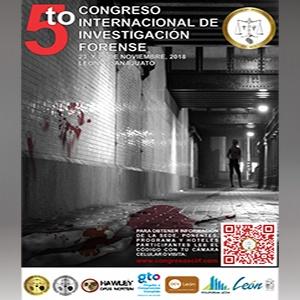 5TO. CONGRESO INTERNACIONAL DE INVESTIGACIÓN FORENSE