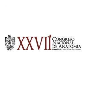 XXVII CONGRESO NACIONAL DE ANATOMÍA