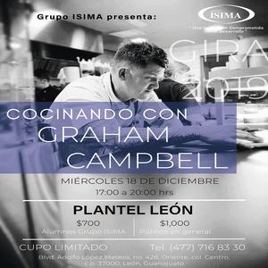 Cocinando con Graham Campbell