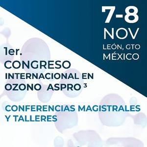 1er. Congreso Internacional de la Asociación de Profesionales en Ozono