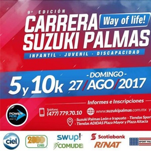 9a CARRERA SUZUKI PALMAS 2017