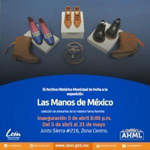 Exposición Las Manos de México