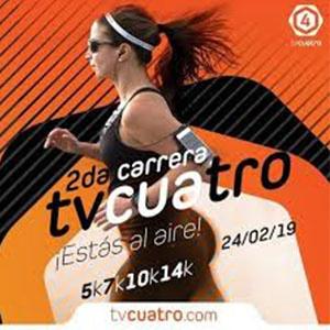 2da. Carrera Atlética TV4 ¡Estás al aire!