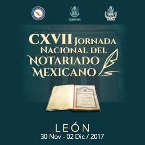 CXVII JORNADA NACIONAL DEL NOTARIADO MEXICANO