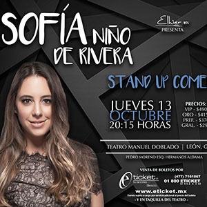 SOFIA NIÑO DE RIVERA Y ALEX FERNÁNDEZ: STAND UP COMEDY