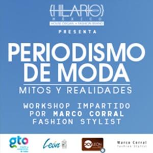 WORKSHOP PERIODISMO DE MODA: MITOS Y REALIDADES