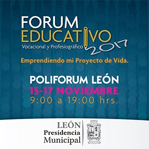 FORUM EDUCATIVO VOCACIONAL Y PROFESIOGRÁFICO 2017