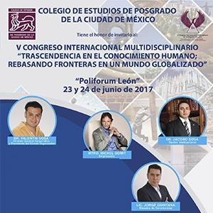 V CONGRESO INTERNACIONAL MULTIDISCIPLINARIO DE INVESTIGACIÓN EDUCATIVA