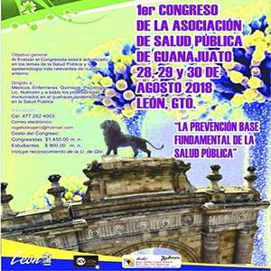 1ER. CONGRESO DE LA ASOCIACIÓN DE SALUD PÚBLICA DE GUANAJUATO