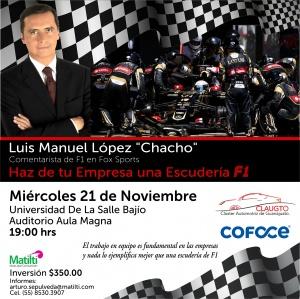 Conferencia de Luis Manuel López