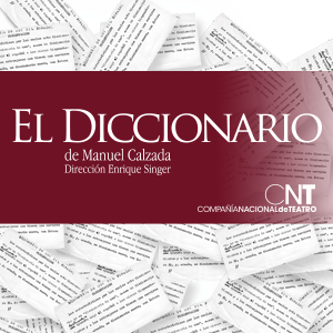 EL DICCIONARIO, DE MANUEL CALZADA