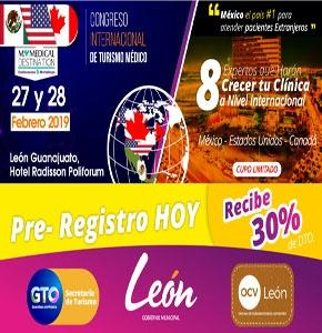 CONGRESO INTERNACIONAL DE TURISMO MÉDICO LEÓN 2019
