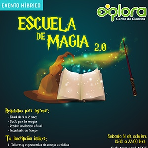 Escuela de Magia - Generación 2020 - Evento híbrido