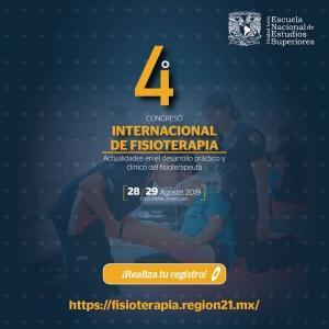 4to. Congreso Internacional de Fisioterapia Enes UNAM Unidad León