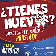 ¿TIENES HUEVOS? CORRE CONTRA EL CANCER DE PROSTATA