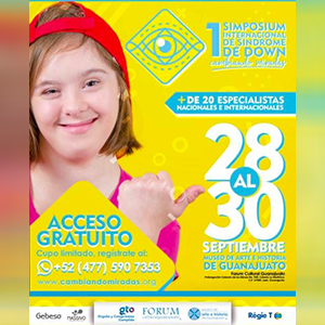 1ER SIMPOSIUM INTERNACIONAL DE SINDROME DE DOWN