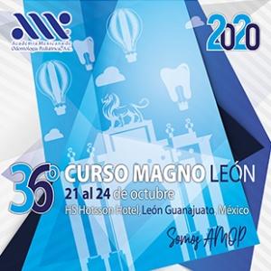 36° Curso Magno Academia Mexicana de Odontologia  Pediatrica