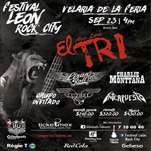 FESTIVAL LEÓN ROCK CITY 2017