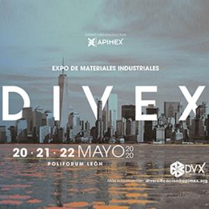 Exposición de materiales industriales DIVEX