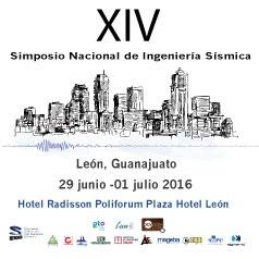 XIV SIMPOSIO NACIONAL DE INGENIERÍA SÍSMICA 2016
