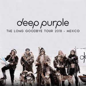 DEEP PURPLE - THE LONG GOODBYE TOUR 2018