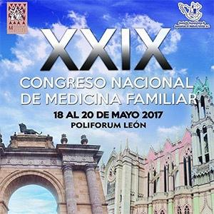 XXlX CONGRESO NACIONAL DE MEDICINA FAMILIAR Y III CONGRESO ESTATAL DE MEDICINA FAMILIAR