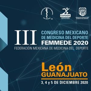 III Congreso Mexicano de Medicina del Deporte