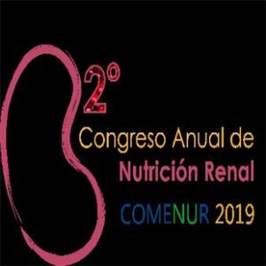 CONGRESO ANUAL COMENUR 2019  DE NUTRICIÓN RENAL
