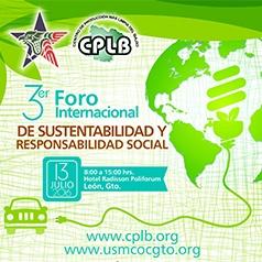 3ER. FORO INTERNACIONAL DE SUSTENTABILIDAD Y RESPONSABILIDAD SOCIAL