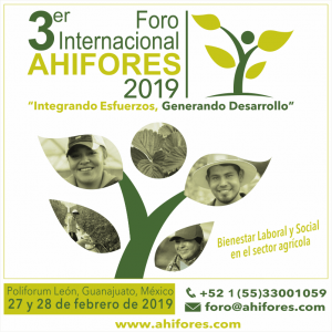 3er Foro Internacional AHIFORES 2019