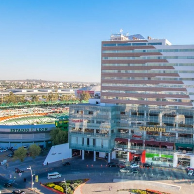 Hotel & Plaza Stadium